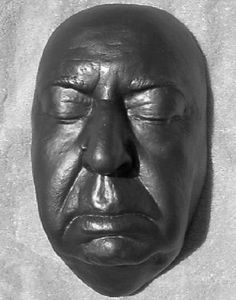 Death Masks of the Famous ~ Alfred Hitchcock