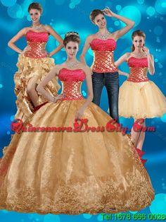 elegant golden dress