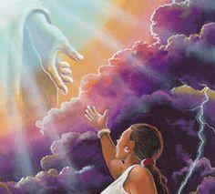 Black Jesus Art - Precious Lord, Take My Hand - Lester Kern