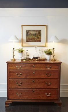 Consoles, Condo Decorating, Traditional Decor, How To Antique Wood, Decoration, Country Decor, Living Area, Living Room Designs, Home Goods