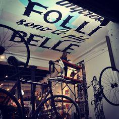 BIke shop Ceeling - pict by Paolo Martelli by eme , via Behance