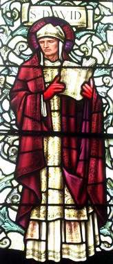 St David Patron Saint of Wales