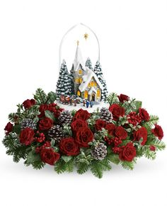 "Take 25% off ""Thomas Kinkade's Starry Night"" the best selling Christmas Bouquet"