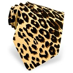 Leopard Print Tie by Wild Ties