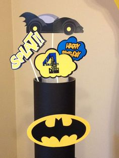 Batman Theme Birthday Party Birthday Party Ideas | Photo 2 of 15 | Catch My Party