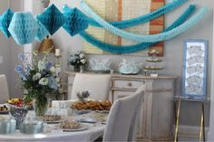 Baby Shower for a Boy // Baby Shower Decor