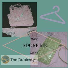 AdoreMe July Unboxing  #intimates #dubinskystravels #adoreme #subscriptionbox #unboxing #fsolife #pajamas #lingerie