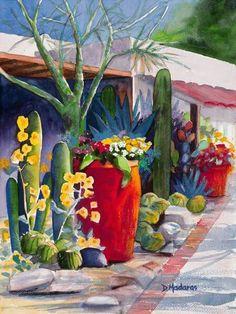 "Diana Madaras ""Pots at the Hacienda"""