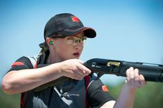 Julie Golob is a member of Team Benelli 3-Gun and shoots a Benelli Performance Shop shotgun in multi-gun competitions. Shooting Sports, Shooting Gear, Fancy Dress Online, Delaware Indians, Night Sights, Home Defense, Hunting Season, United States Army, Red Army