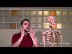 Auto - masaje de la garganta y zona anterior del cuello.