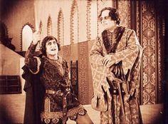 Szene mit Eduard von Winterstein (rechts) (Einzelbild aus Nitro-Original)