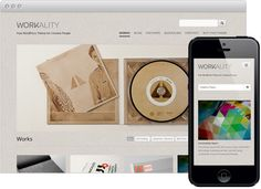 Workality Premium - Responsive Wordpress Theme for Creatives