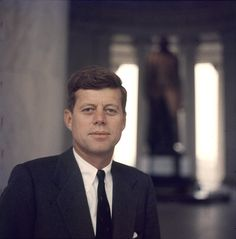 American Senator from Massachusetts John F Kennedy 1957