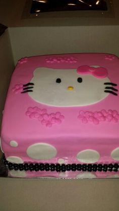 Hello Kitty cake @https://m.facebook.com/Imacakehead