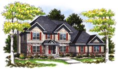 Impressive Stone and Stucco - 89449AH | Architectural Designs - House Plans