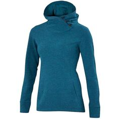Ibex Women's Reese Hoody ($180) ❤ liked on Polyvore featuring tops, hoodies, dragonfly heather, ibex, ibex hoodie, blue hoodies, blue top and ibex hoody