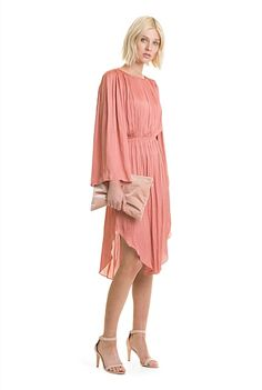 Soft Pleated Dress