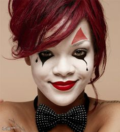 Beautiful mime Rihanna - Worth1000 Contests