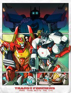 Transformers MTMTE Really love the art on this one. (Swerve is terrified by…