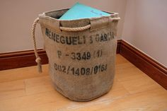 Hey, I found this really awesome Etsy listing at https://www.etsy.com/uk/listing/462164758/hessian-storage-basket-the-perfect-eco