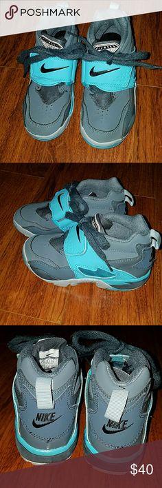 Nike Air Diamond Turf Grey and Aqua sneakers Nike Air Diamond Turf Grey and Aqua Nike Shoes Sneakers