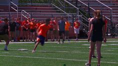 CHAGRIN FALLS, Ohio– Students in Chagrin Falls celebratedtheir last day of school with a giant kickball tournament. But, the game wasn't just for fun. FOX 8's Brittany Harris sho…
