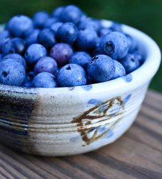 """blueberries.  I goto a fruit and vegetable """"straight from the farm"""" store several times per week and buy blueberries.  I take a handfull, wash them and """"lock, drop & loaded"""" down my chompers every morning.  Gives you the extra energy and is soooo deelish!  Goes super good in protein shakes, salads and martinis.  I'm hooked, as you should be!"""