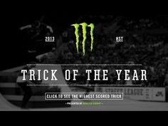 Street League's 2013 Monster Energy Trick of the Year - http://DAILYSKATETUBE.COM/street-leagues-2013-monster-energy-trick-of-the-year/ -   Geoff Rowley narrates and Eric Koston celebrates as Shane O'Neill makes 9 Club history. His perfect switch 360 double flip in the Impact Section in Portland ... - 2013, energy, League's, monster, street, trick, year
