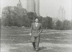 Fidel Castro, Central Park, Nueva York, 1955 (fuente). Ver pie de foto anterior.
