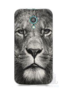 Capa Moto G2 Leão Face - SmartCases - Acessórios para celulares e tablets :)
