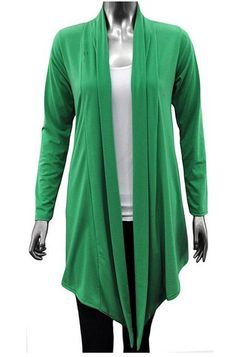 Get go with this New Mood Green Cardigans For Women Long Sleeved Waterfall Cardigan. This is available in other colors too, so pick it up before your order. Price--> each deal. Cheap Cardigans, Cardigans For Women, Waterfall Cardigan, Green Cardigan, Woman Reading, Collar Pattern, Different Patterns, Mood, Colors