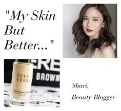 """""""Bobbi Brown Skin Foundation"""" by luxuree ❤ liked on Polyvore featuring Bobbi Brown Cosmetics, beautytips, luxuree, BobbiBrownSkinFoundation and MakeupFoundation"""
