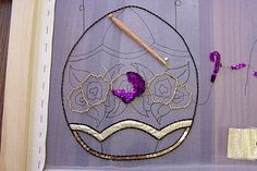 tambour bead embroidery