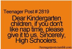 or at least to the TEACHERS! I don't understand why they don't want to sleep. Give me a mat and blanket and I will be out in seconds! Really Funny Memes, Stupid Funny Memes, Funny Relatable Memes, Funny Texts, Relatable Posts, Hilarious, Funny Teen Posts, Teenager Posts, Teen Quotes