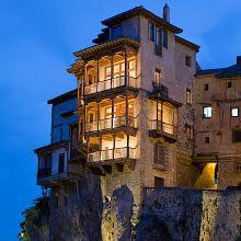 Casas Colgadas in Cuenca, Spain.