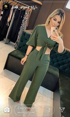 Smart Casual, Ruffle Sleeve, Wide Leg Pants, Ideias Fashion, Casual Dresses, Jumpsuit, Style Inspiration, Suits, My Style