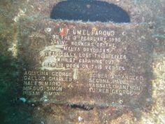 Um El Faroud commemorative plaque