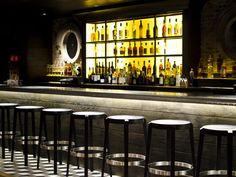 Zinc bar top - Brass Union restaurant, Somerville - MA