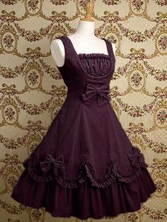 Purple gothic lolita dress