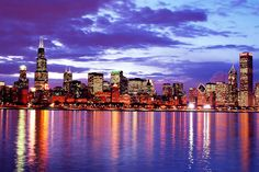no matter what anyone says, chicago has the prettiest skyline out of anywhere