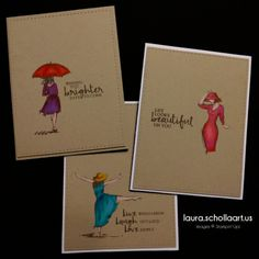 Stunning cards created using the Beautiful You Stamp Set from the Stampin' Up! In Canada, get Stampin' UP!