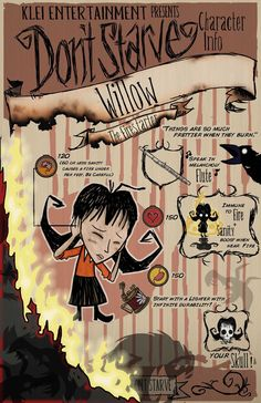 Don't Starve- Willow by MedicApprentice on DeviantArt