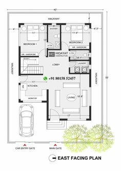 Duplex Floor Plans, Indian House Plans, House Map, Floor Layout, Indian Homes, Entry Gates, Modern House Design, Ms, Arch