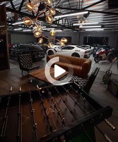 25 Ultimate man cave ideas you need to see! These man caves are completelty insane! Hopefully these man cave ideas inspire you! #cars Industrial Apartment, Industrial Furniture, Industrial Style, Industrial Design, Man Cave Diy, Tropical Houses, Room Decor Bedroom, Woodworking Shop, Entryway Decor