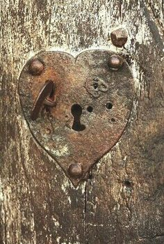 Heart shaped lock...