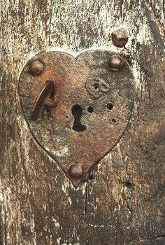 Heart shaped lock...