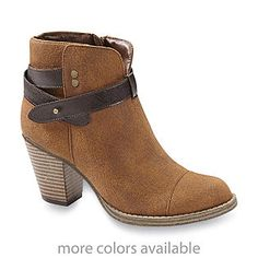 Seventeen Women's Crystal Waxed Microsuede Boot. Just got these are they are perfect for fall!!