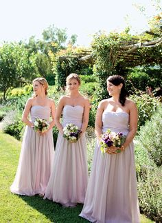 Soft Blush dresses