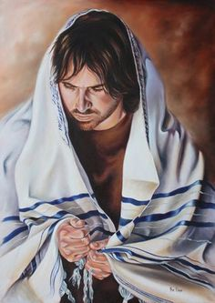 """Oil on canvas by Ilse Kleyn. Psl 18 """" In my distress I called upom the Lord; and cried out to my God; He heard my voice from His temple, and my cry came before Him, even to His ears. Bible Pictures, Jesus Pictures, Art Pictures, Christian Paintings, Christian Art, Biblical Hebrew, Bride Of Christ, Prophetic Art, Lion Of Judah"""