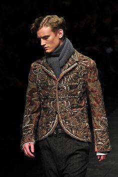 Milan Fashion: Dolce & Gabbana Fall-winter 2012-2013 Menswear collection